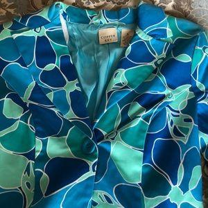 Copper Key Jackets & Coats - Floral Blazer